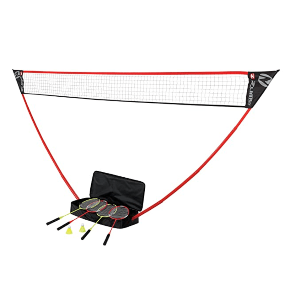 Zume Games Portable Badminton Set with Freestanding Base Now .99 (Was .99)