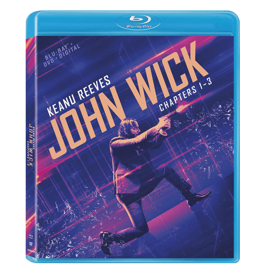 John Wick Chapters 1-3 Blu-ray Now .49 (Was .99)
