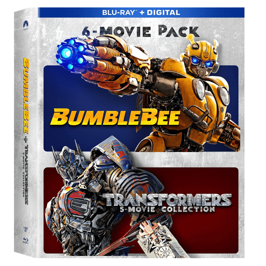 Bumblebee & Transformers Ultimate 6-Movie Collection [Blu-ray + Digital] Now .96 (Was .98)