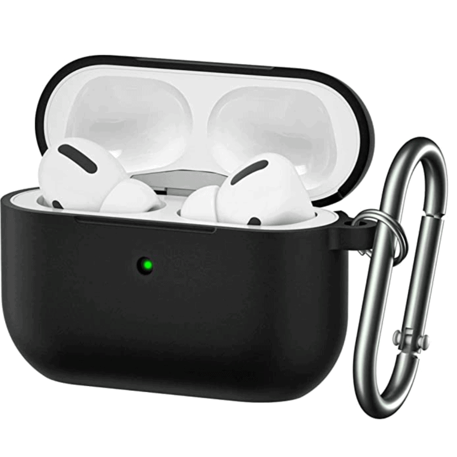 BRG Soft Silicone Skin Cover Shock-Absorbing Protective Case for Airpods Pro Case Now .77