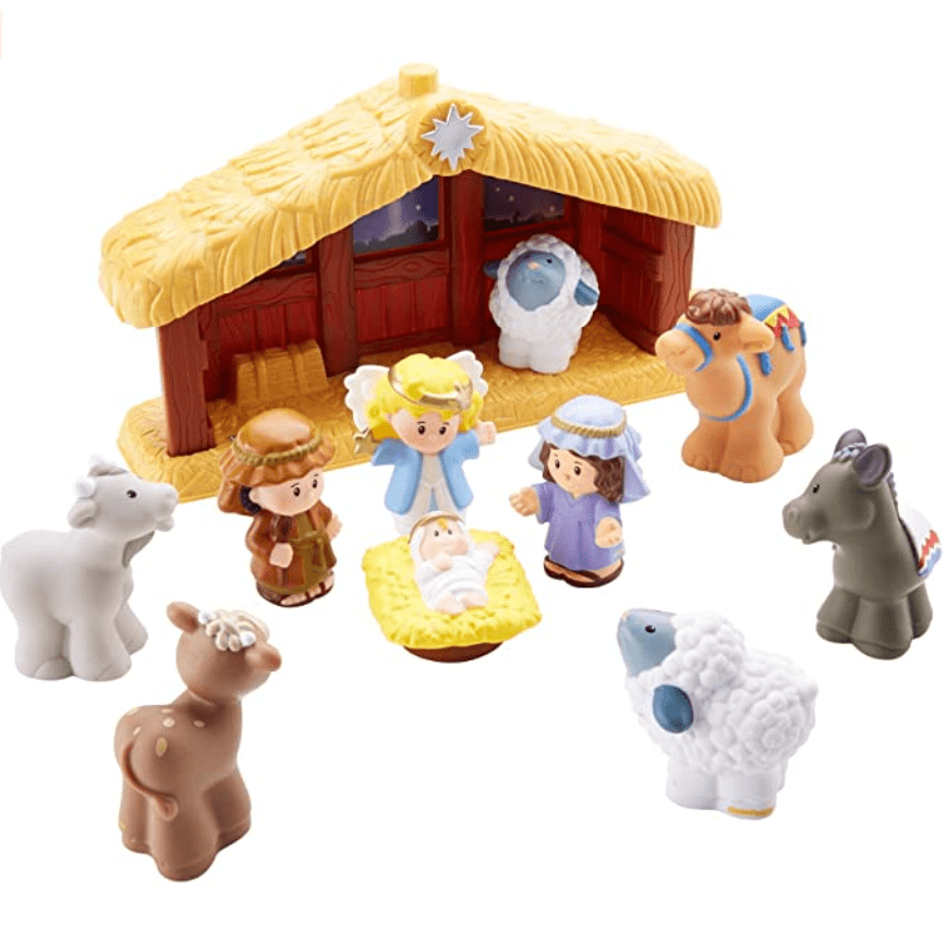 Fisher-Price Little People Nativity Now .99