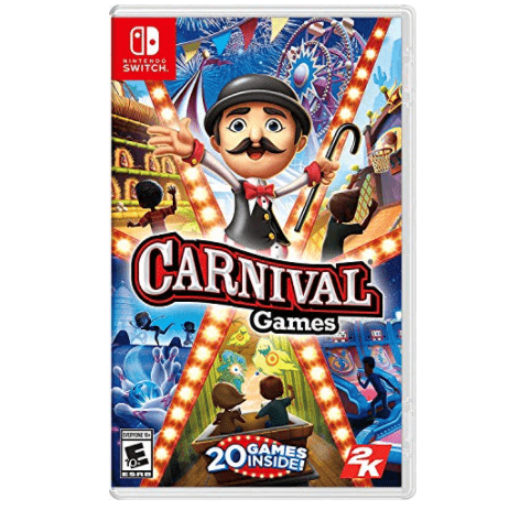 Carnival Games Nintendo Switch Now .99 (Was .99)