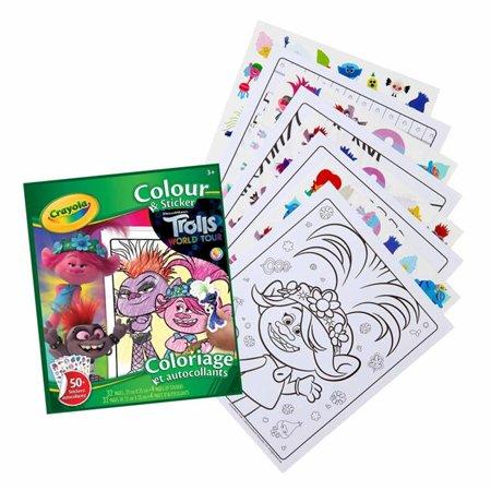 Crayola Trolls World Tour Scrapbook Kit Now $7.78 (Was $14)