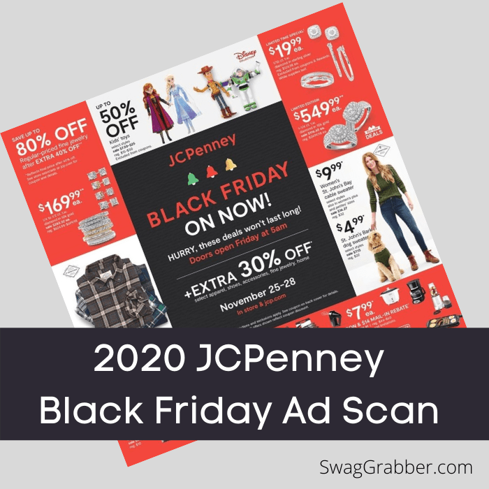 2020 JCPenney Black Friday Ad