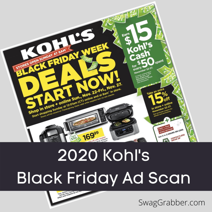 2020 Kohl S Black Friday Ad Is Out Swaggrabber
