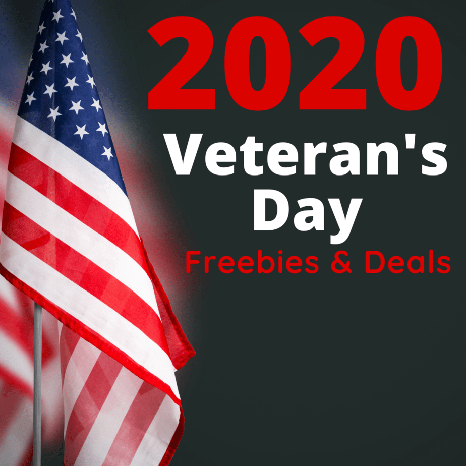Veteran's Day Freebies & Deals for 2020