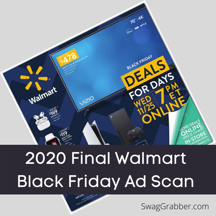 Walmart Nov 25th Black Friday Ad Is Out Swaggrabber