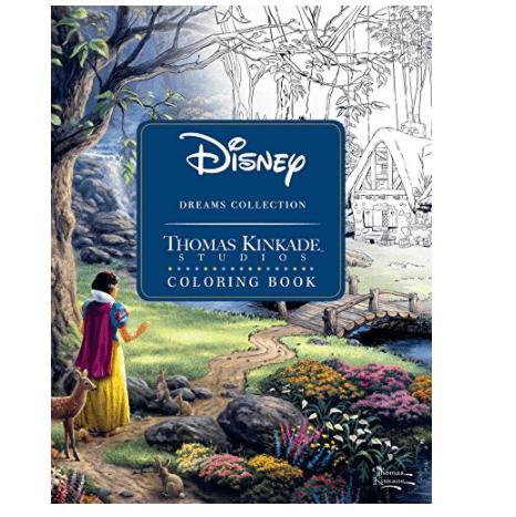 Disney Dreams Collection Thomas Kinkade Studios Coloring Book Now .77 (Was .99)