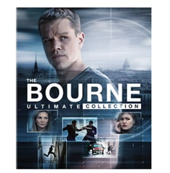 The Bourne Ultimate Collection Blu-ray Only .99 (Was .98)