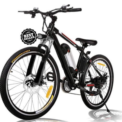 Angotrade 26 inch Electric Mountain E-Bike 21 Speed Now 9 (Was 00)