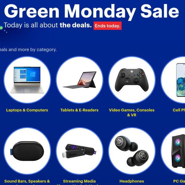 The Best Buy Green Monday Sale is LIVE!!!