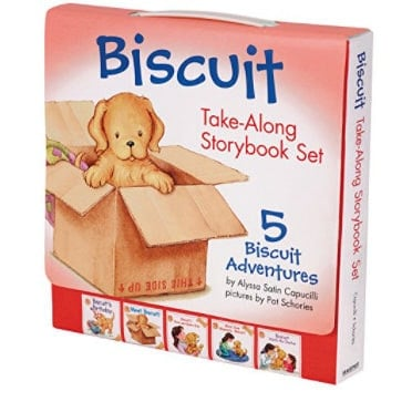 Biscuit Take-Along Storybook Set: 5 Biscuit Adventures Now .68 (Was .99)