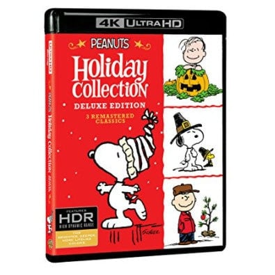 Peanuts Holiday Collection 4K Ultra HD + Blu-ray Now .99 (Was .98)