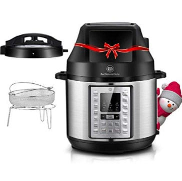 6.5 Qt Pressure Cooker and Air Fryer Combo Now 8.99 (Was 0)