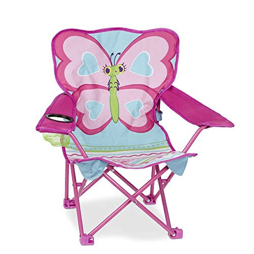 Melissa & Doug Cutie Pie Butterfly Camp Chair, Pink Now .29 (Was .99)