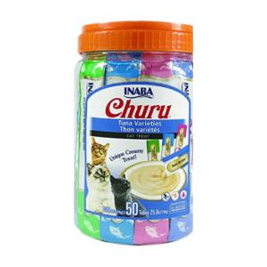 Churu Tuna Lickable Creamy Purée Cat Treats  Now .49 (Was .99)