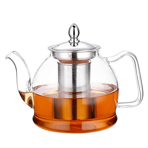Hiware 1000ml Glass Teapot Now .39 (Was .99)