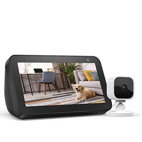 Echo Show 5 Charcoal with Blink Mini Indoor Camera Now .99 (Was 4.98)