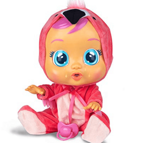 Cry Babies Fancy The Flamingo Doll, Pink Now .69 (Was .99)
