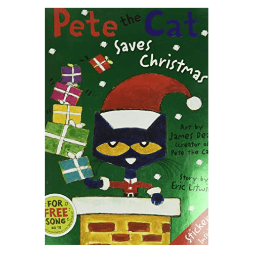Pete the Cat Saves Christmas Now .99 (Was .99)
