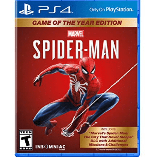 Marvel's Spider-Man: Game of The Year Edition PlayStation 4 Now .99 (Was .99)