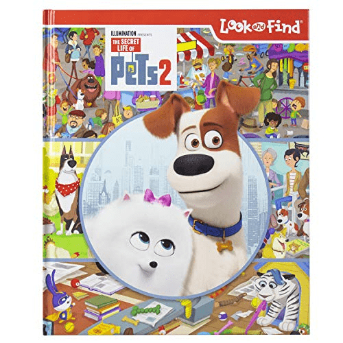 The Secret Life of Pets 2 Look and Find Activity Book Now .00 (Was .99)