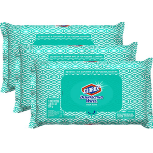 Clorox Disinfecting Wipes 3-Pack (225 total wipes) .19