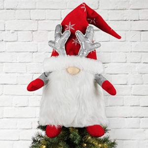 Kmuysl Gnome Christmas Tree Topper Now .99 (Was .99)