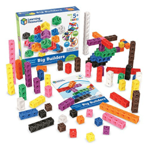 Learning Resources MathLink Cube Big Builders Now .39 (Was .99)