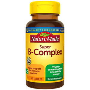 Nature Made Super B-Complex Tablets, 60 Count Now .65 (Was .69)