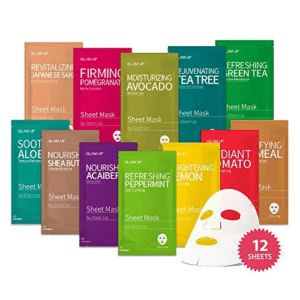 Glam Up Facial Sheet Mask 12Combo Now .95 (Was .90)