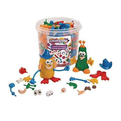 Colorations BUILDME Creative Creatures Dough Builders Now .94 (Was .69)