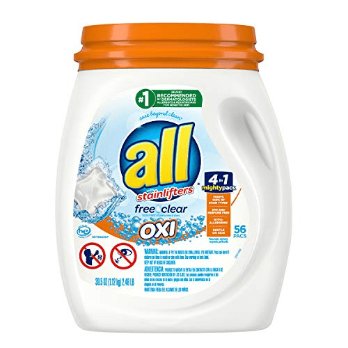 All Mighty Pacs Laundry Detergent Tub, 56 Count Now .99 (Was .99)