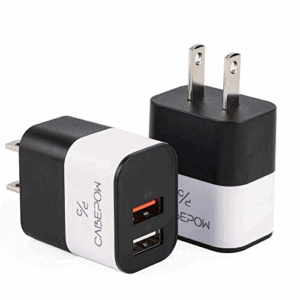 5V/2.1A USB Wall Charger Now .99 (Was .99)
