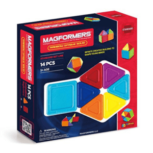 Magformers Rainbow Opaque Solid Set Now .60 (Was .99)