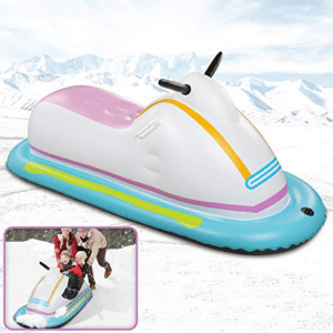Inflatable Snowmobile Snow Sled Now .09 (Was .99)