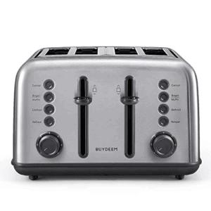 BUYDEEM 4-Slice Toaster Now .99 (Was .99)