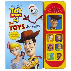 Disney Pixar Toy Story 4 Wood Sound Book Now .00 (Was .99)