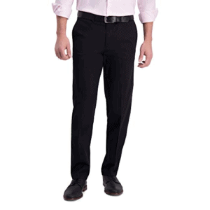 Haggar Men's Khaki Casual Pant Now .00 (Was .00)