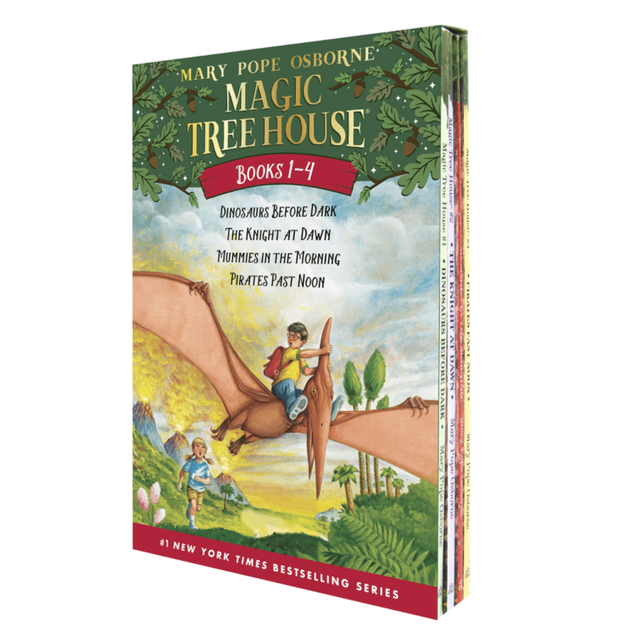 Magic Tree House Boxed Set Books 1-4 Now .00 (Was .96)