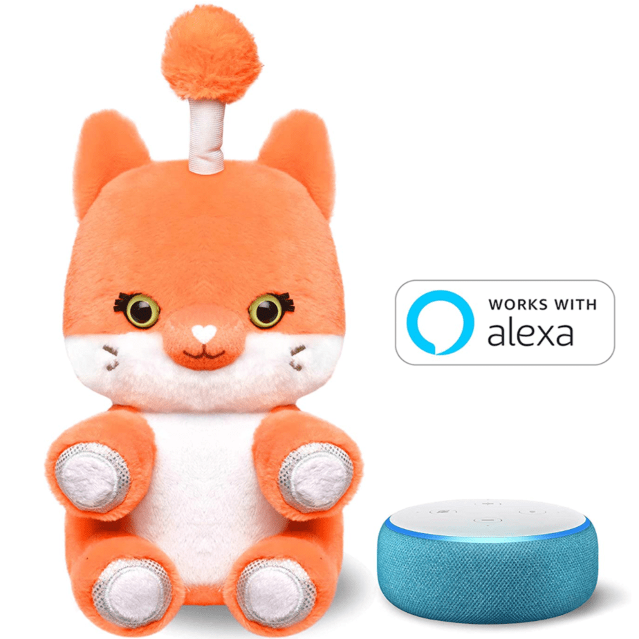 Fuzzible Friends Fox or Unicorn Now .99 **Interacts with Alexa for Games & Stories**