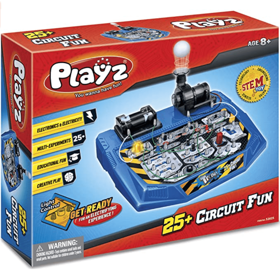 Playz Electrical Circuit Board Engineering Kit Now .95 (Was .95)