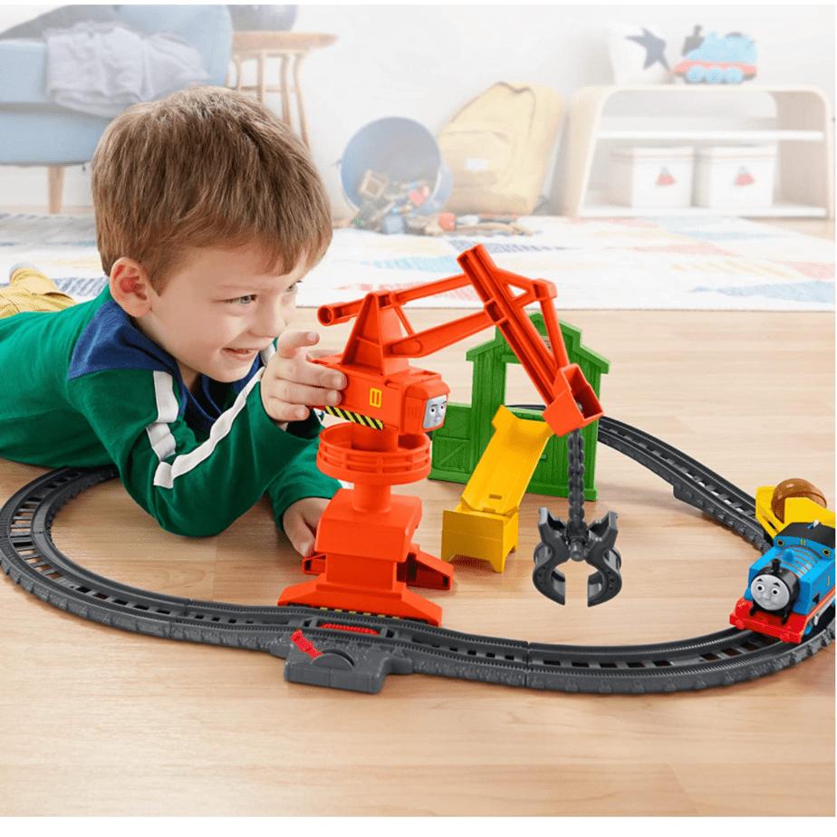 Thomas & Friends Trackmaster Cassia Crane & Cargo Set Now .96 (Was .99)