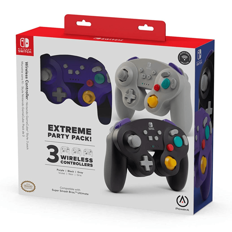 PowerA Extreme Party Pack! Wireless Controllers for Nintendo Switch 3 Now .99 (Was 0)