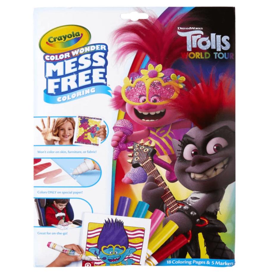 Crayola Wonder Trolls World Tour Mess Free Coloring Now .97 (Was .99)