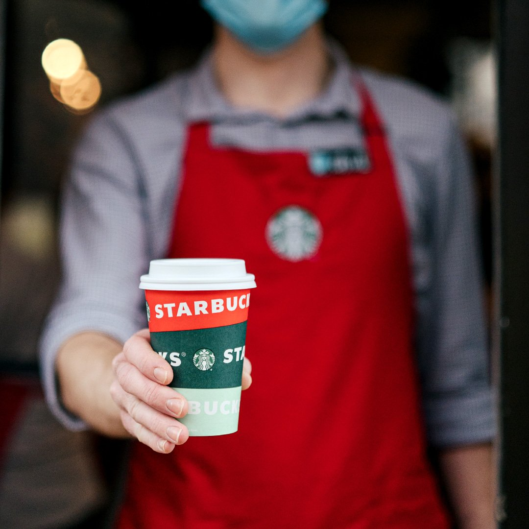 Free Starbucks Coffee for Healthcare Workers & First Responders
