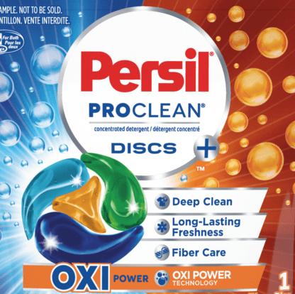 FREE Sample of Persil ProClean Discs Detergent