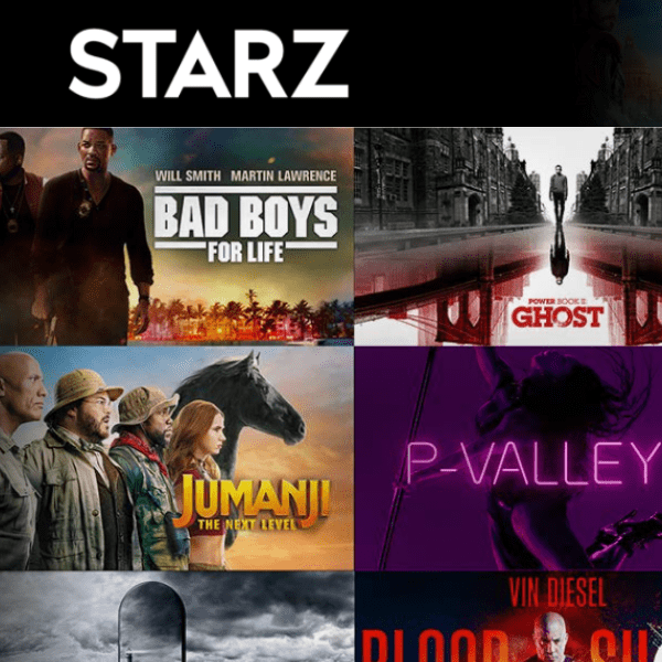 One Month of Starz Only .99 for Prime Members