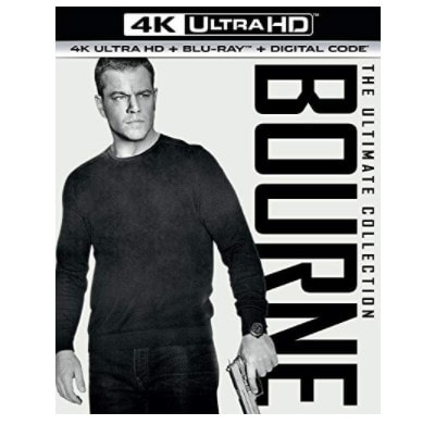The Bourne Ultimate Collection on Blu-ray Now .99 (Was .98)
