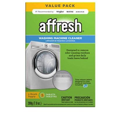 Affresh Washing Machine Cleaner, 5 Tablets Now .34